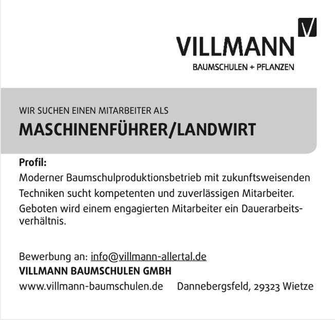 Maschinenführer / Landwirt Download